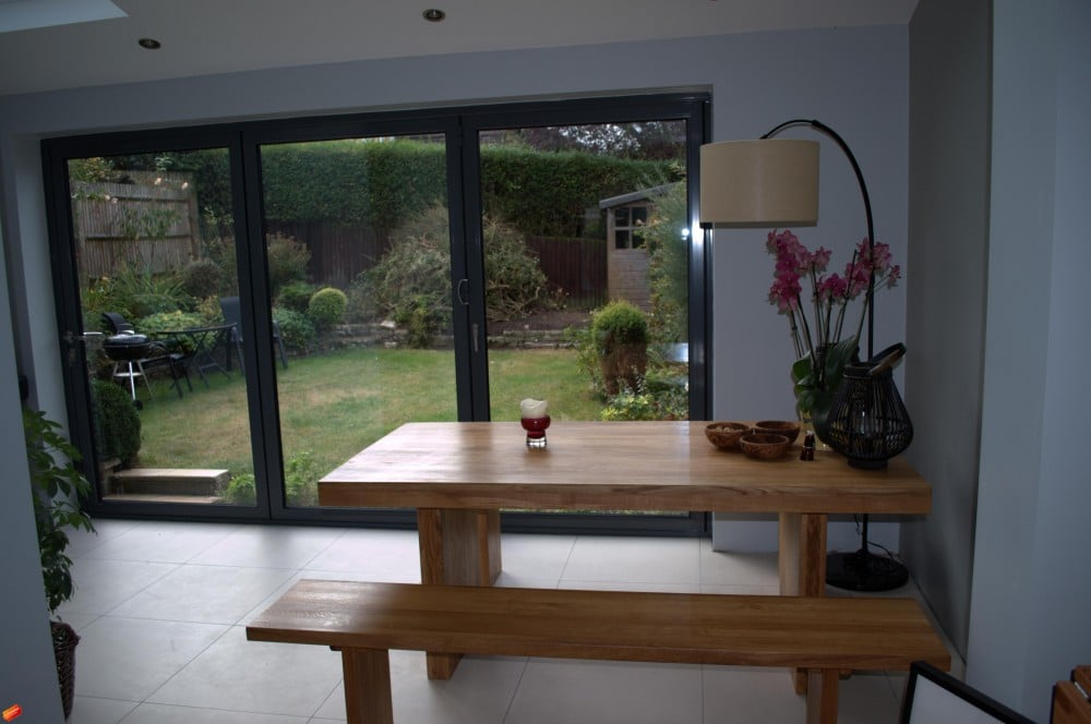 3 panel bifolding doors