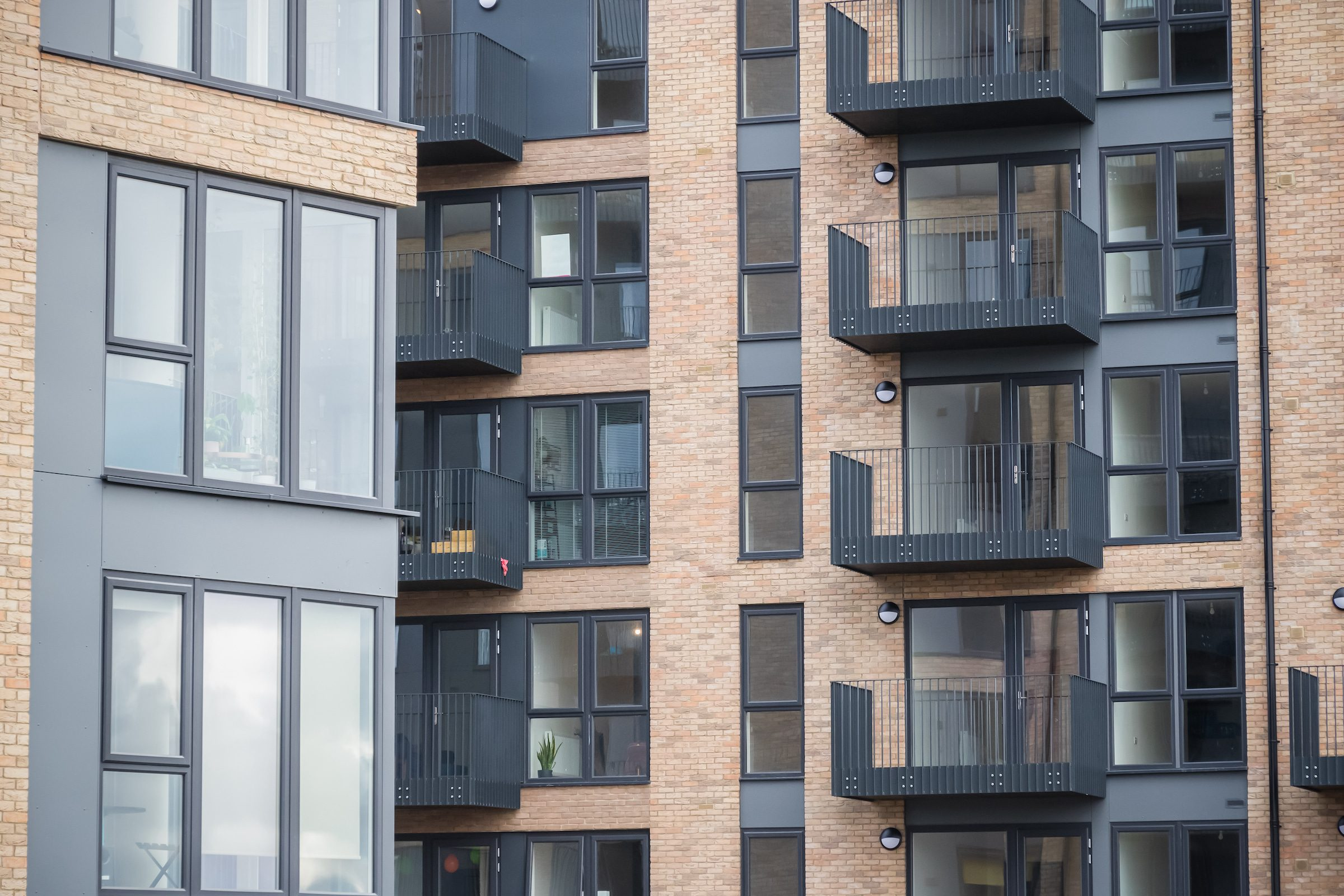 exlabesa building systems project showing exlabesa windows and doors in new flats
