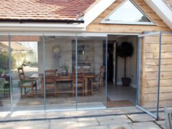 Even all glass door such as these Frameless Glass Curtains have passed stringent security testing.