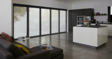 Kitchen Bifolding Door Blinds