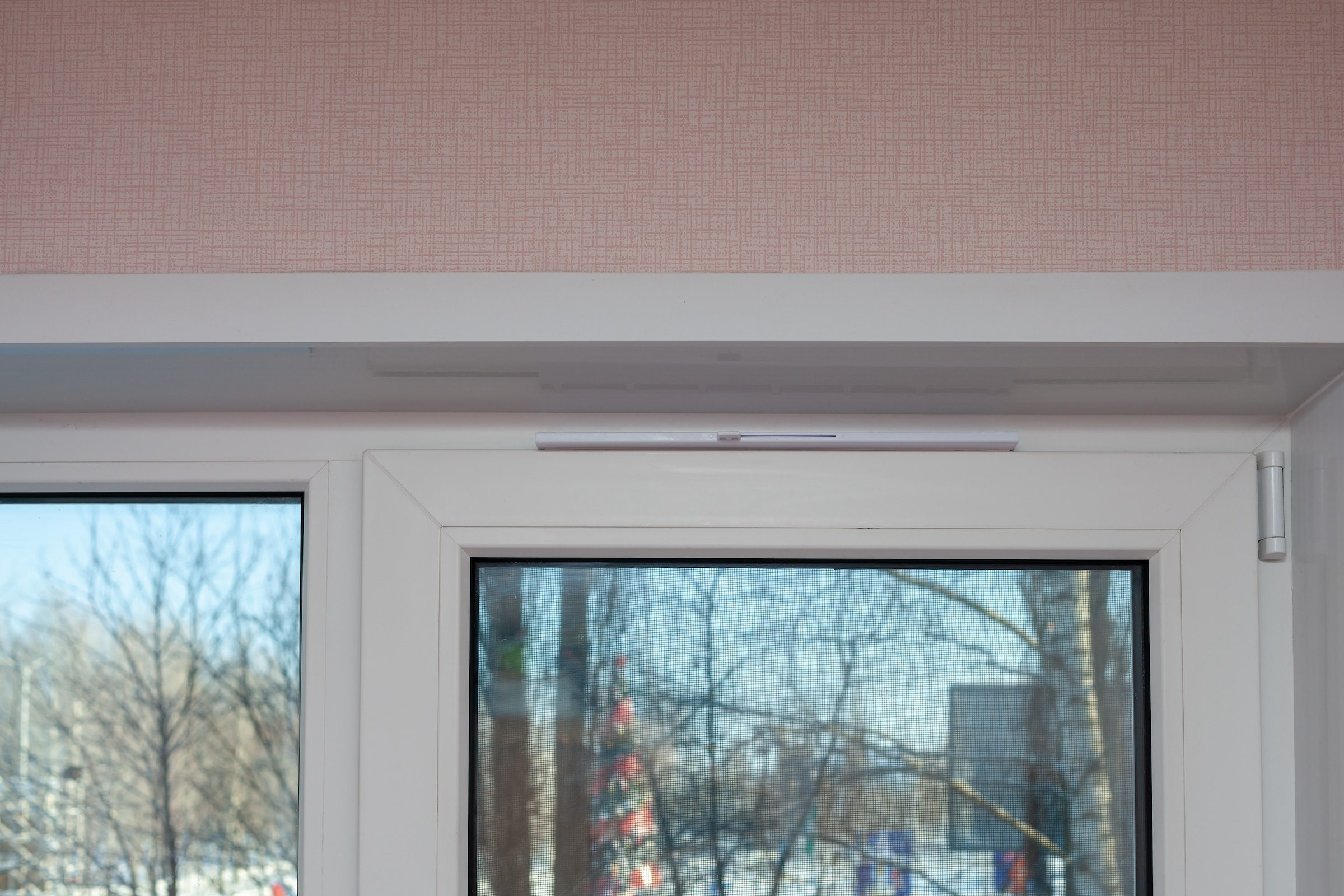 trickle vents in new white windows