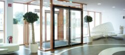 any door that is not being fitted to a dwelling must now comply different standards and legislation