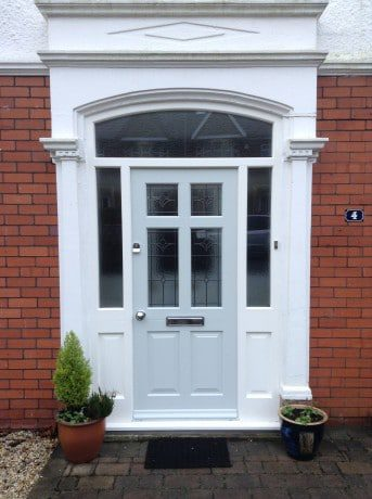 nothing can replicate the look or feel or weight of an original hand crafted wood door