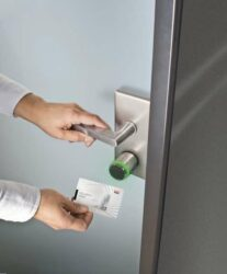 there are many sophisticated ways of accessing and controlling doors with modern technology