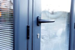 Bifolding doors are one product that can be enhanced with integral blinds sealed in the unit.