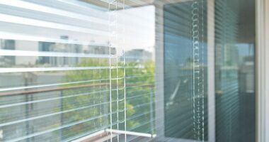 integral blind in a window