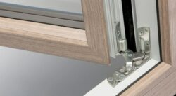Windows are fitted with high quality and durable hardware