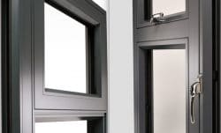 On the left an Origin Window with a standard fixed light and on the right with a dummy casement.