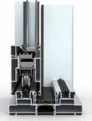 the wicona sliding door features excellent engineering, advanced thermal breaks and up to three tracks.