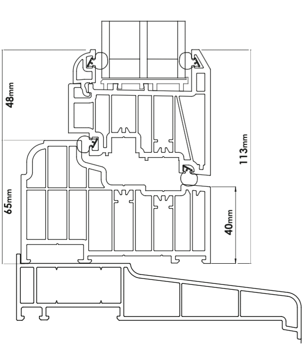 residence 9 section drawing