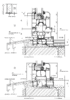 bifolding door cill section drawing.