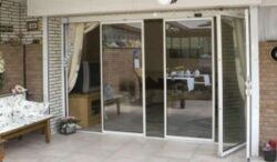 ID Systems offer a range of doors but the frameless version is only single glazed.