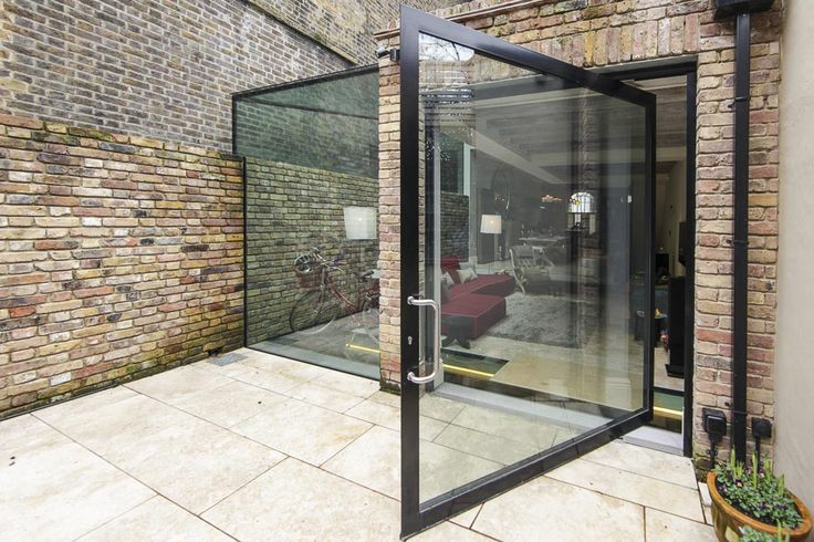 A Huge Door Close To 3 Metres Width Can Create True Glass Wall When Closed And An Impressive Open