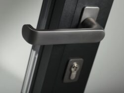 aïr bifolding doors are available with a unique range of handles in many individual finishes.