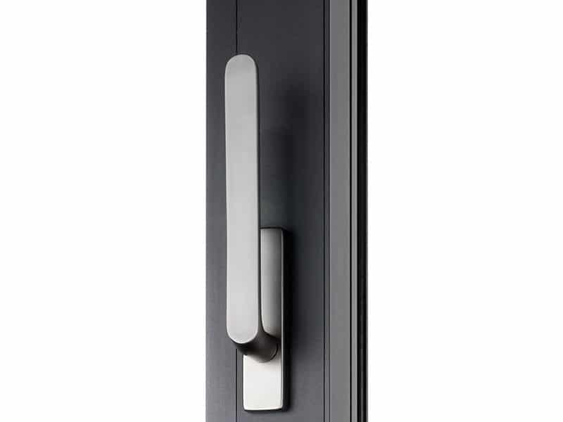 Bifolding door handle.