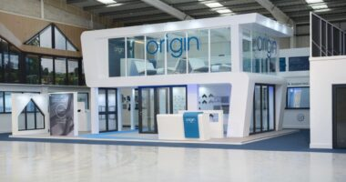 Origin showroom in Cheshire