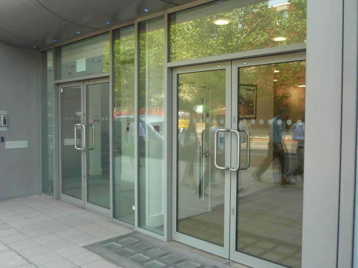 Commercial Aluminum Doors : Comar commercial doors by rayner ats