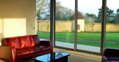 Window Walling in aluminium
