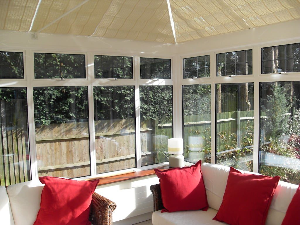 blinds for conservatory roofs
