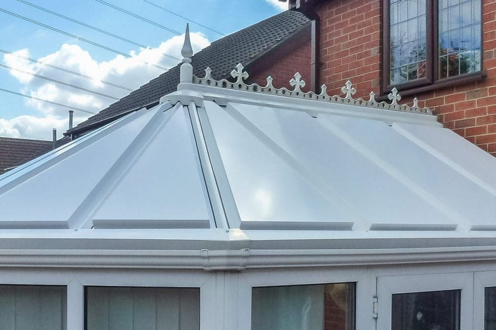 aluminium replacement conservatory roof panels