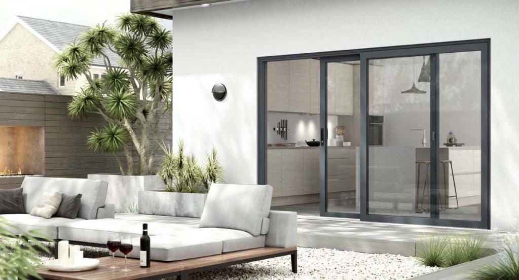 warmcore inline patio door
