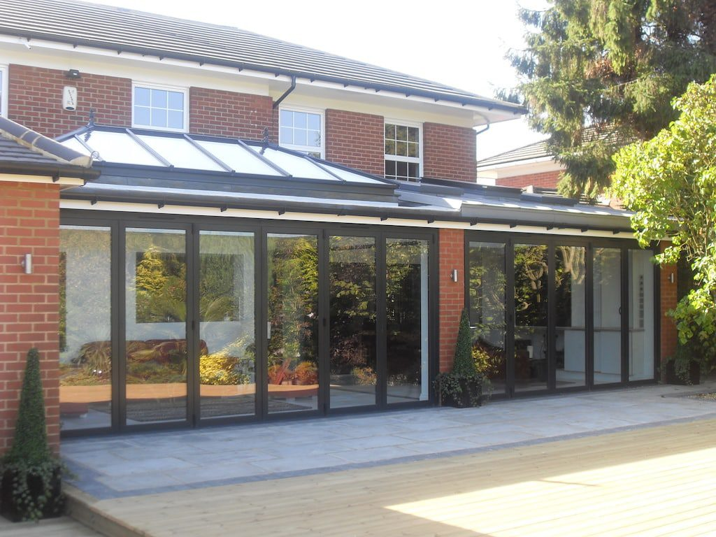 best roof lanterns in large detached house extension