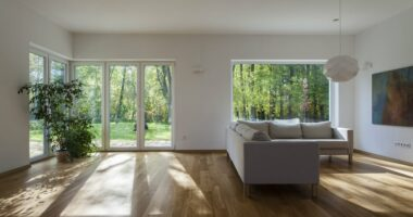 Schuco and Origin bifolding doors