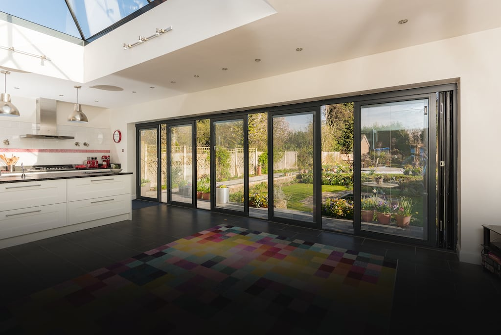 panoramic bifolding doors