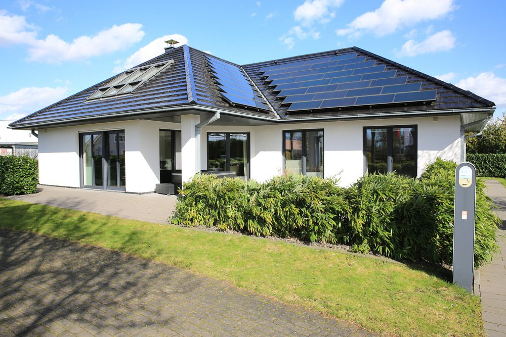 aluminium doors and windows maintenance showing new grey windows in a house