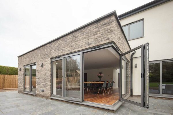 continental bifolding doors by duration windows
