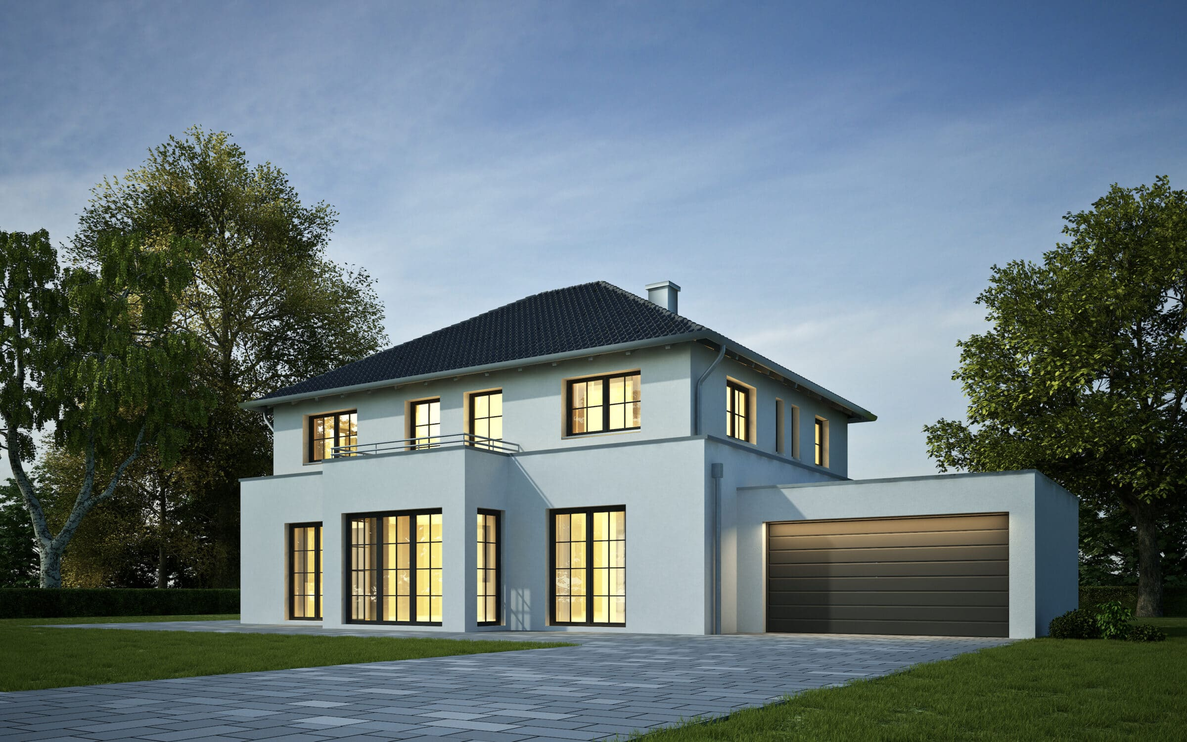 information about buying steel-look windows in aluminium