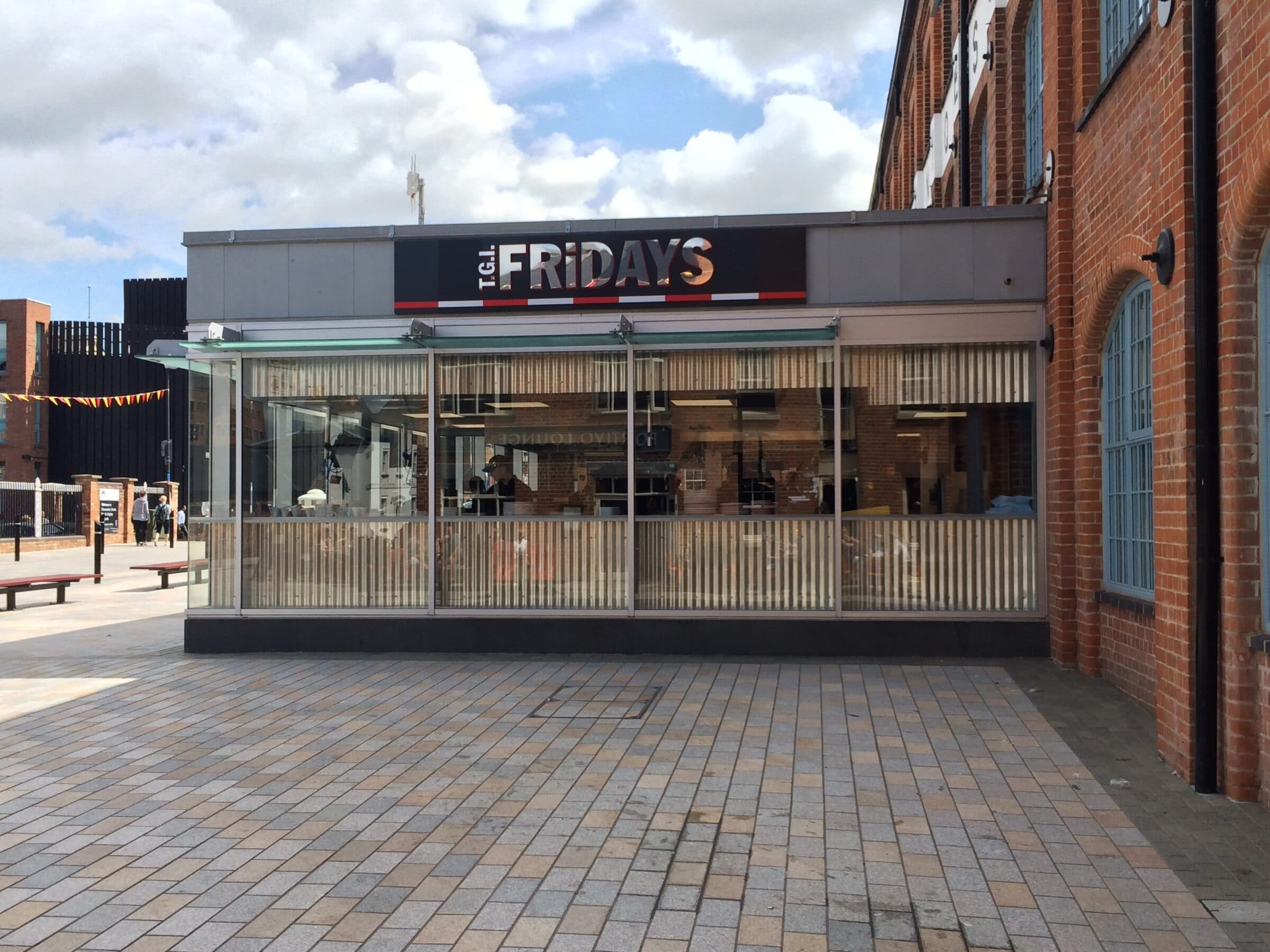commercial shopfronts and screens