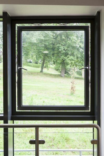 a parallel opening commercial aluminium windows