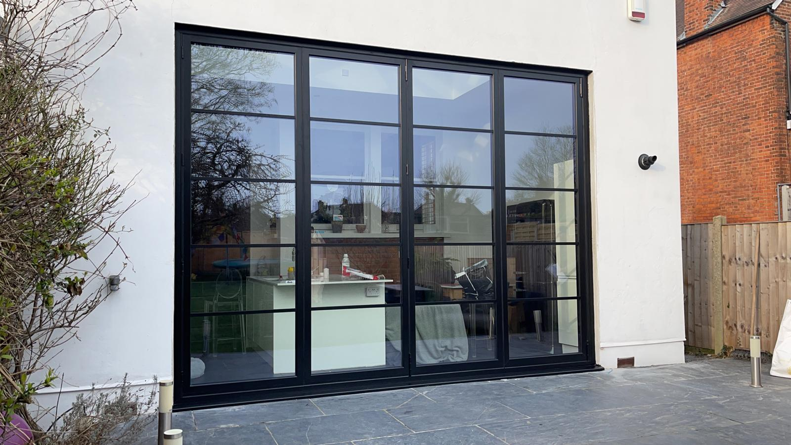 buying steel-look bifolding doors
