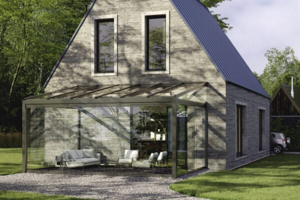 Solarlux canopies and glass houses