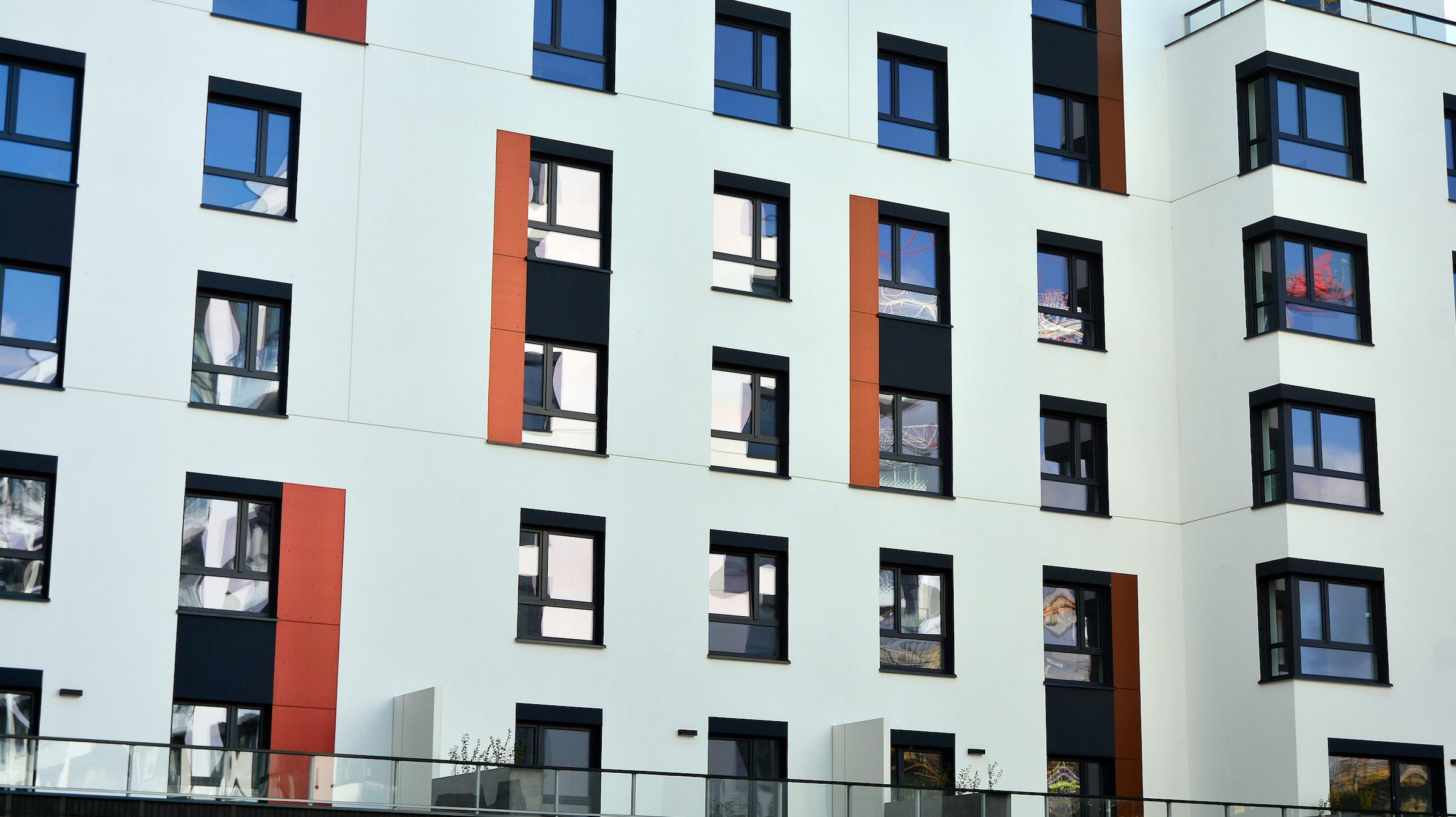 altec systems windows in a block of new flats